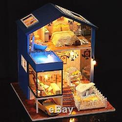 DIY Handcraft Miniature Wooden Dolls House My Little Villa in Seattle