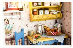 DIY Handcraft Project Wooden Dolls House Long Vacation Sunday Brunch