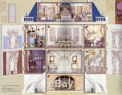 Deagostini JP 1/12 Scale DollHouse European Style Palace Unassembled Model Kit