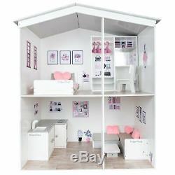 Designafriend Wooden Dolls House