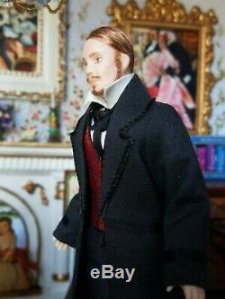 Dollhouse Miniature Artisan Terri Davis Gentleman Doll 112