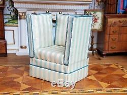 Dollhouse Miniature Artisan Valerie Casson Knoll Sofa and Chair 112