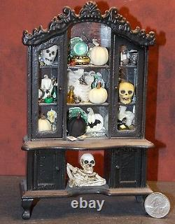 Dollhouse Miniature Halloween Witch Hutch 112 one inch scale F41 Dollys Gallery