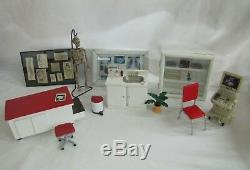 Dollhouse Miniature Handcrafted MEDICAL OFFICE SET Ultrasound 1/12th Medicine