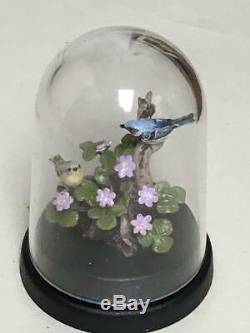 Dollhouse Miniature Mary Mcgrath Chickadee Bird Sculpture