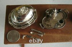 Dollhouse Miniature SILVERSMITH SHOP and Contents by Eugene Kupjack RARE Museum