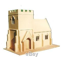 Dolls House 1/12 scale Village Church Kit DHD039