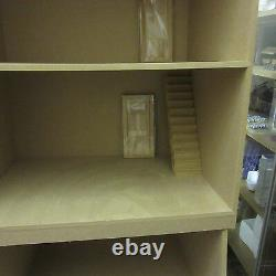 Dolls House 12th scale 3 Storeys High French House kit by DHD