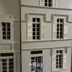 Dolls House 12th scale 4 Storeys High French House KIT by DHD