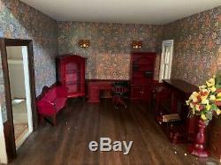 Dolls House Emporium 3 storey plus attic rooms, house plus lights only