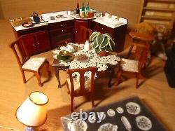 Dolls House Furniture & Accessories Bundle Huge joblot, complete set. 1/12 scale