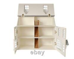 Dolls House Georgian Shop Pub & Basement 112 Scale Flat Pack MDF Wood Kit