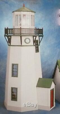 Dolls House Lighthouse Kit Miniature 112 Scale Wooden Flat Pack Unpainted