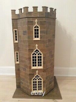 Dolls House Miniature 12th Gothic Tower House By Anglesey Dolls Houses