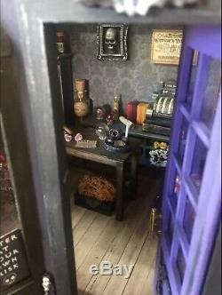 Dolls House Petals & Potions Magic Shop Witch, Wizard, Haunted, Spooky