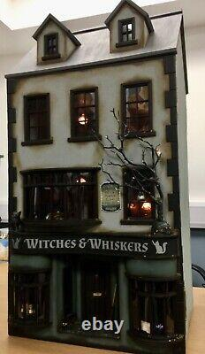 Dolls House'Witches and Whiskers' Apothecary & Séance Room