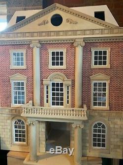 Dolls house emporium, Grosvenor House, 3 story plus attic rooms