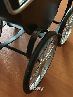 Dolls house hand made Robersons carriage built pram