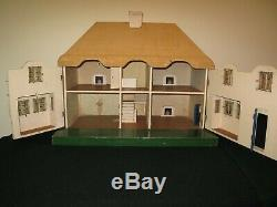 Dolls house, vintage Tri-ang rare, interesting & special