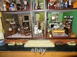 Elspeth's House wonderful antique, fully furnished 1890's large Dolls House