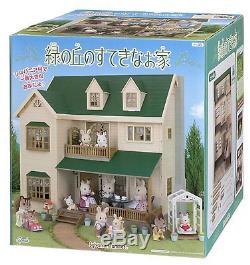 Epoch Sylvanian Families Sylvanian Family Green Hill House ha-35 New