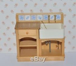 Fab Artisan Jane Newman/stokesay Ware Belfast Sink Unit 12th Scale