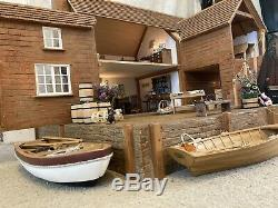 Fishermans Cottage Large Dolls House Brian Nickolls 1/12th Scale Miniatures