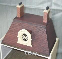 Fully Finished Quarter-Scale French Townhouse 148 Dolls House Artisan Miniature