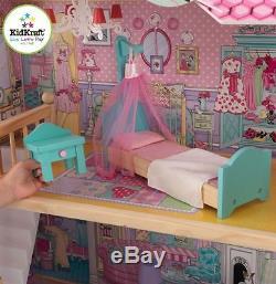 GRoßes Barbiehaus / Puppenhaus Annabelle von KidKraft Holz 65079