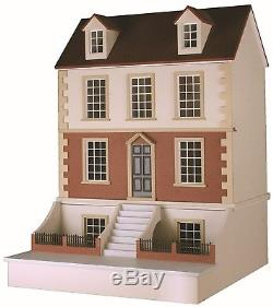 Georgian Dolls House and Basement kit. Made by Barbaras Mouldings