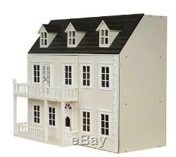 Glenside Grange Victorian Dolls House Painted Flat Pack Kit 112 Scale
