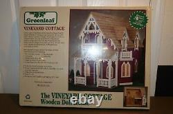 Greenleaf The Vineyard Cottage Wooden Dollhouse Kit #8019 NEW NIB Doll House