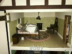 Hand Made Large Dolls House, Wooden, Very Solid, Excellent Condition