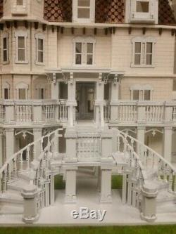 Hegeler Carus Mansion 148 scale Dollhouse Kit