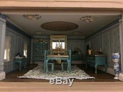 Huge Grand 3 Storey Georgian Mansion. Handmade Bespoke 4ft wide