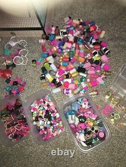 Huge LOL Dolls Bundle House, Chalet, Dolls, Lil Sisters, Pets, Car Etc