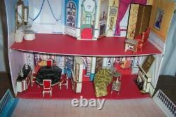 IDEAL Petite Princess Patti Dollhouse Fantasy Furniture 40 Piece LOT EXCELLENT