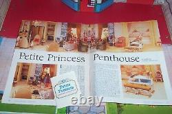 IDEAL Petite Princess Patti Dollhouse Fantasy Furniture 77 Piece LOT EXCELLENT