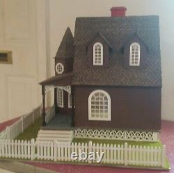 Jasmine 2 Gothic Victorian Cottage Dollhouse (124 Scale)