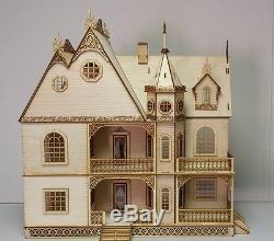 Jasmine Gothic Victorian Dollhouse Half inch scale Kit