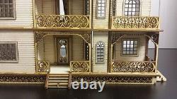 Jasmine Gothic Victorian Dollhouse Quarter / 148 scale Kit