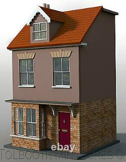 Jubilee Single Dolls House 112 Scale Unpainted Collectable House Kit