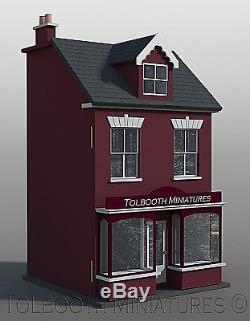 Jubilee Single Shop Dolls House 112 Scale Unpainted Dolls House Kit
