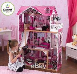 KIDKRAFT Großes Puppenhaus AMELIA Dollhouse Nr 65093 aus Holz