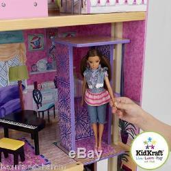 KIDKRAFT Meine Traumvilla-Puppenhaus Nr 65082 aus Holz Puppe