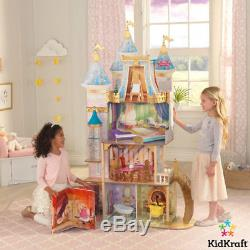 KidKraft Disney Princess Royal Celebration Dollhouse Play Book dolls house
