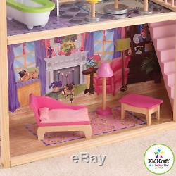 KidKraft Kayla Dollhouse + 10 Pieces of Furniture by KidKraft