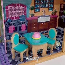 KidKraft Meine Traumvilla Puppenhaus Barbiehaus Dollhouse Puppenstube 65082
