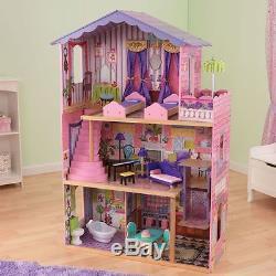 KidKraft Puppenhaus DREAM MANSION Barbiehaus Puppenhaus Puppenstube aus Holz NEU