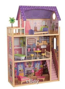 KidKraft Puppenhaus Kayla aus Holz Puppenstube Dollhouse 65092